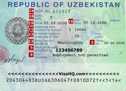 Оформление визы в корею в узбекистане