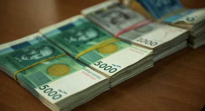 В январе доходы государственного бюджета составили 10,1 млрд сомов, - Минфин