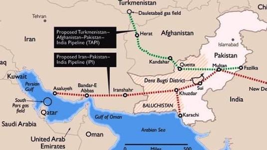 Иран и Пакистан ведут переговоры по строительству газопровода.