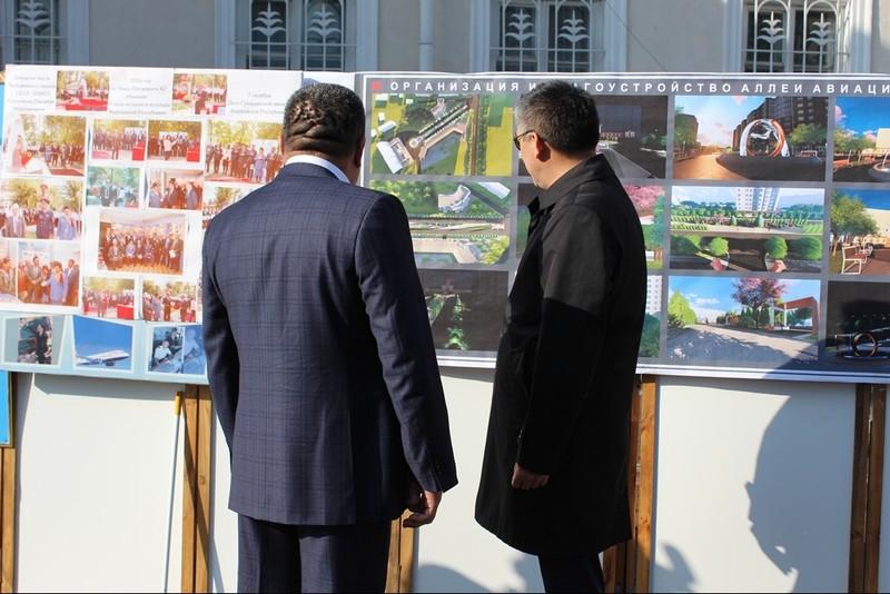 Сотрудники «МАМ» собрали более 347 тыс. сомов для открытия «Аллеи авиационной славы Кыргызстана»