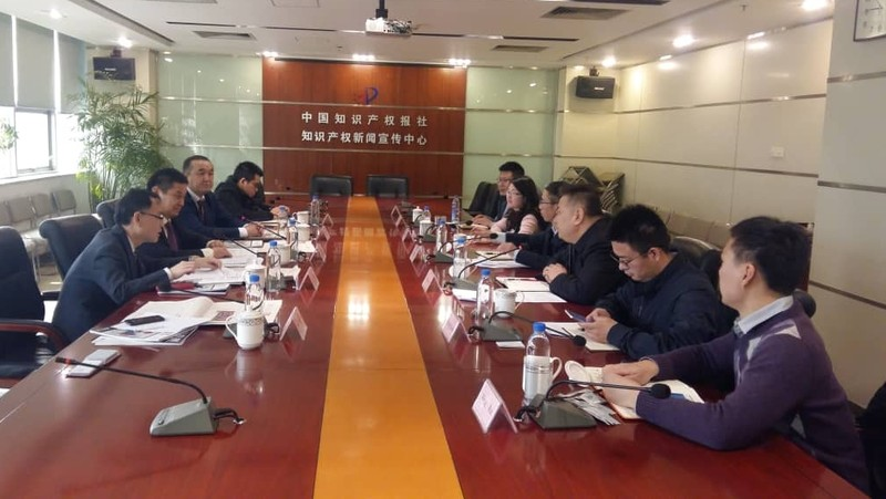 Кыргызпатент ознакомился с системой подачи заявок Китая на объекты интеллектуальной собственности