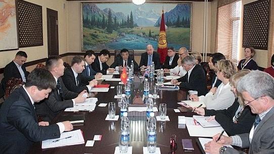 Министр А.Новиков пригласил торговую миссию Великобритании и Северной Ирландии участвовать в проекте «Таза коом»
