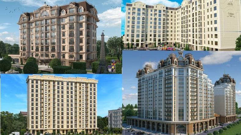 Строящиеся «элитки» Бишкека: Кто возводит Casa Bella, «Французский квартал», «Софию», «Империал» и еще 65 новостроек? (объекты, застройщики)