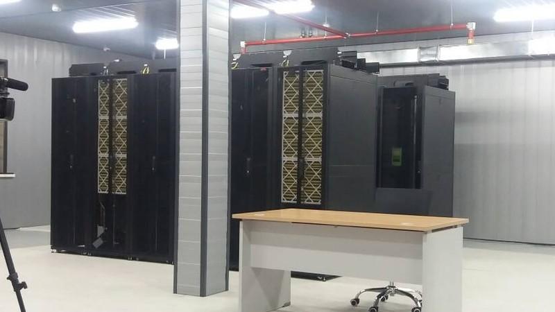 Фото — В Лебединовке открылся data center