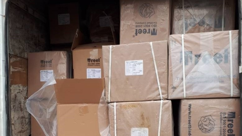Таможня задержала на юге контрабандный груз стоимостью 5,2 млн сомов