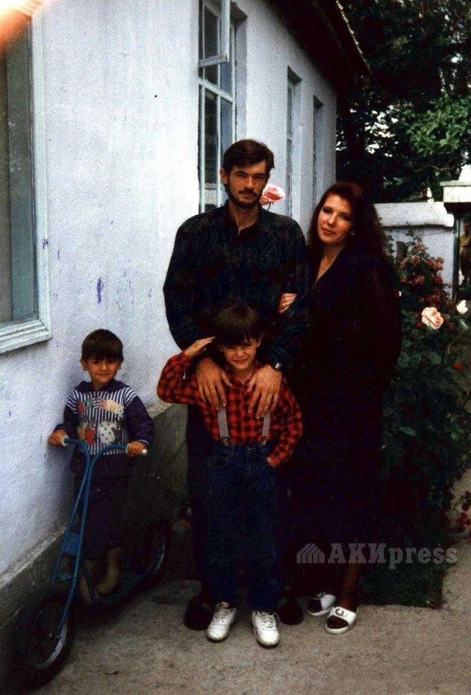 Олег Панкратов с супругой