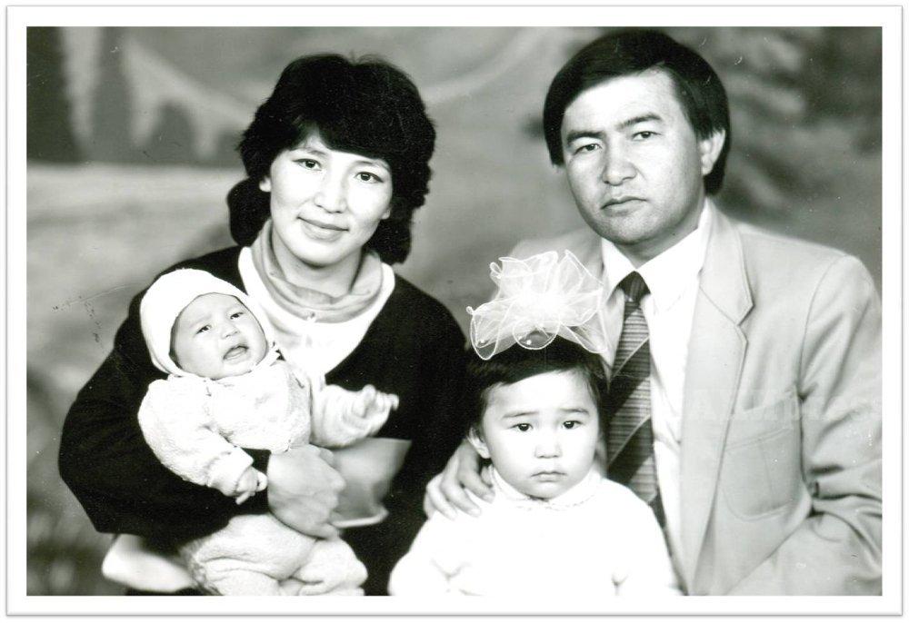 Чыныбай Турсунбеков с супругой