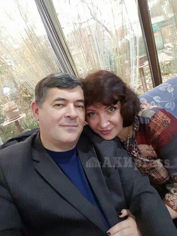 О.Панкратов с супругой