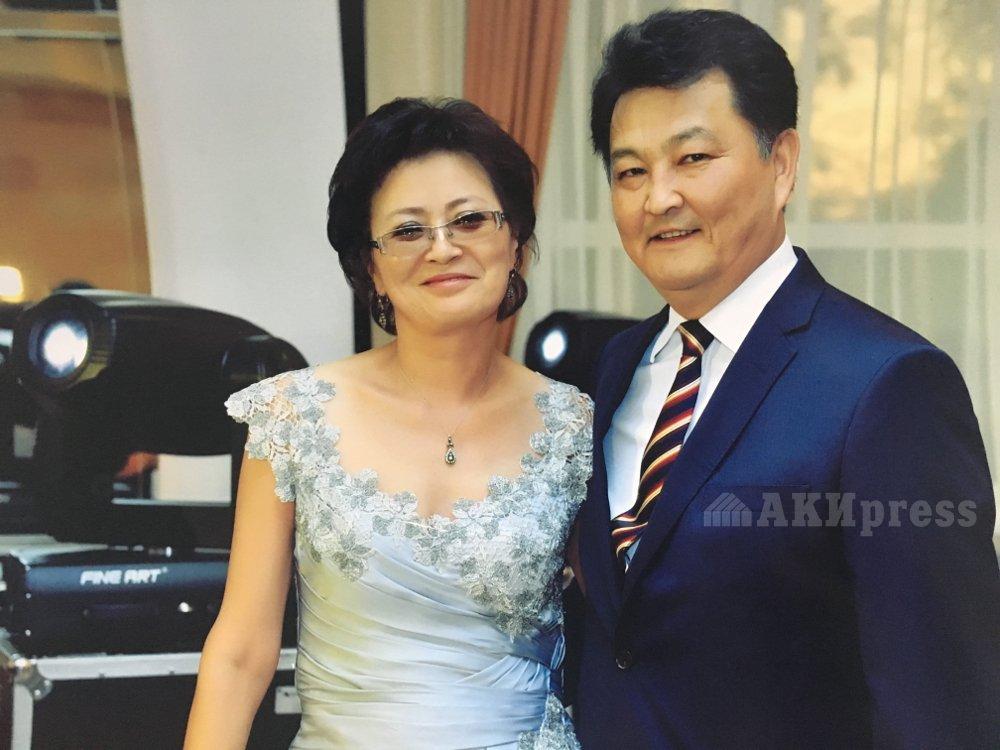 Талантбек Батыралиев с супругой