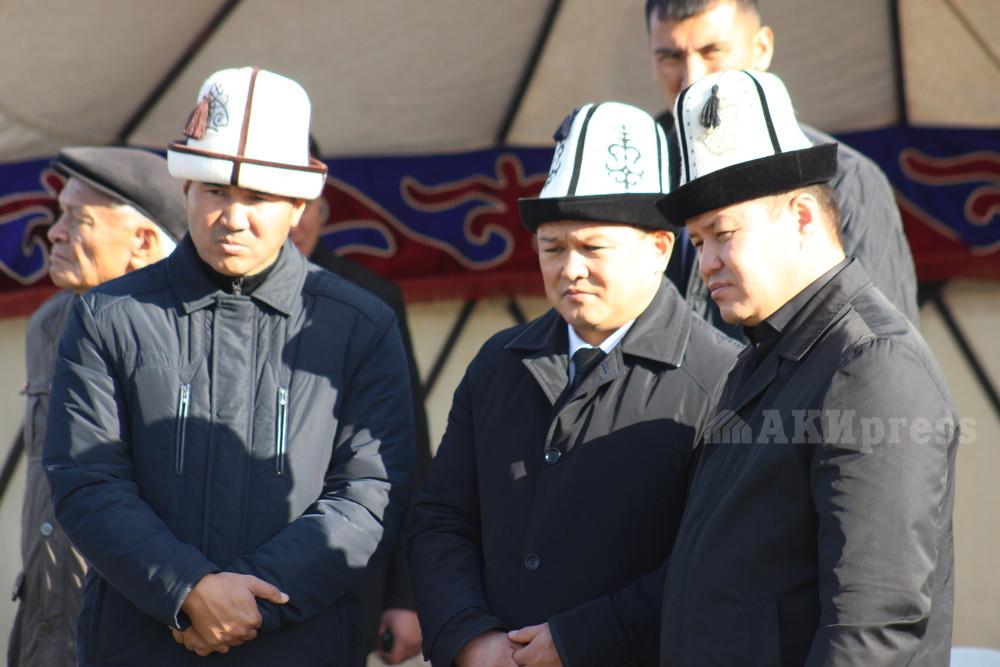 Проводили в последний путь депутата ЖК  Улана Чолпонбаева - ФОТО