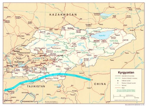Газопровод Кыргызстан—Китай начнут строить в конце 2019 года, - Госкомпромэнерго (карта)