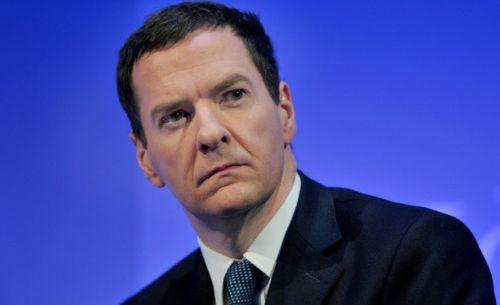 finance minister George Osborne