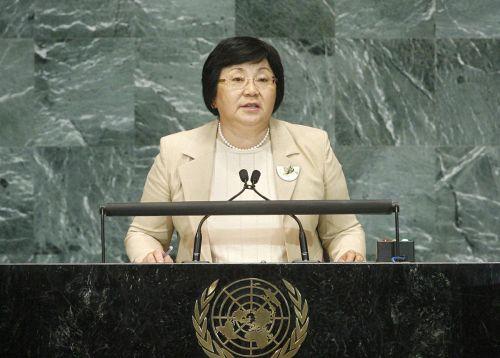 Роза Отунбаева в ООН