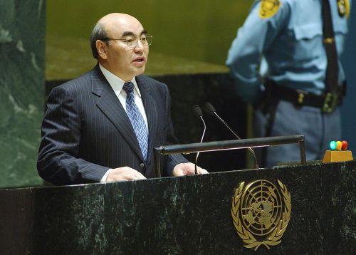 Аскар Акаев в ООН