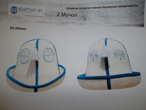 Концепция кыргызского калпака
