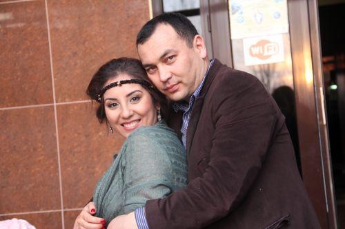 Темир Джумакадыров с супругой
