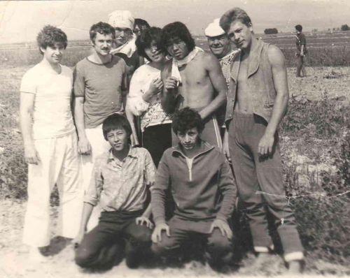 1981г. Двое слева с Ленинграда