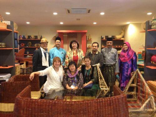Участники проекта в Таиланде
