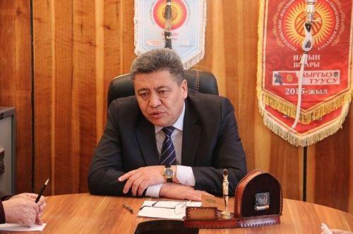 Нарын шаарынын мэри Эмилбек Алымкулов