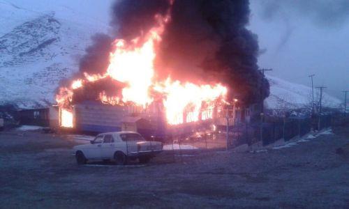 Пожар тойкана Ноокат