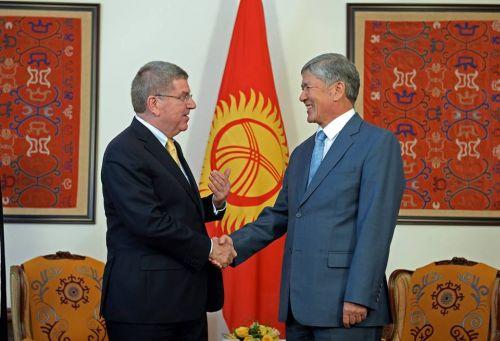 Атамбаев и Бах