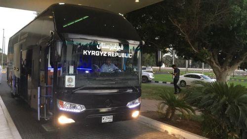 Автобус сборной