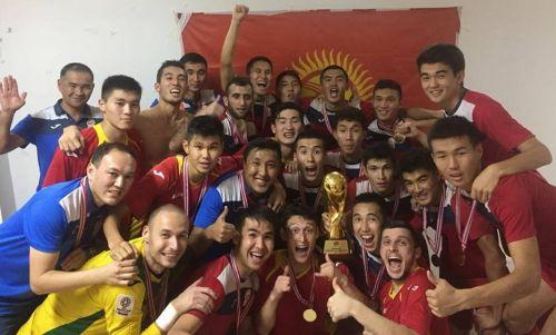 Олимпийская сборная Кыргызстана1