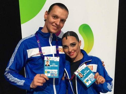 Алексей Кибкало и Татьяна Когадей, танцевальный спорт