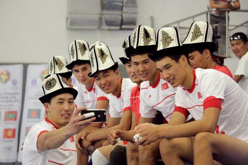 сборная команда Кр по волейболу