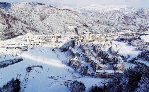 Горнолыжный центр Ёнпхён3