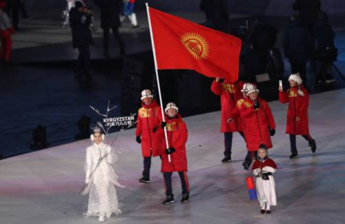 Кто прошелся от Кыргызстана на церемонии открытия зимней Олимпиады?