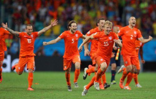 Голландия - Коста-Рика - 0:05