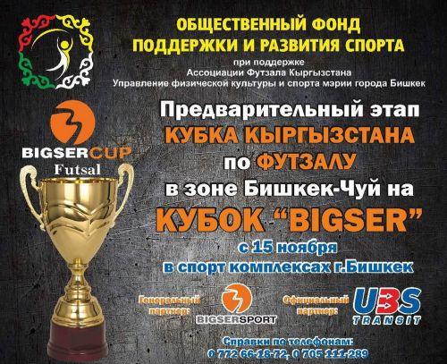 Кубок Кыргызстана по футзалу, Бишкек-Чуй