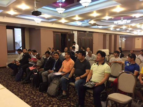 Дзюдо семинар