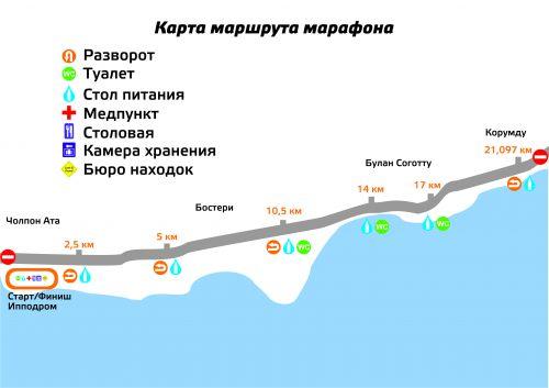 ММК-2017, карта