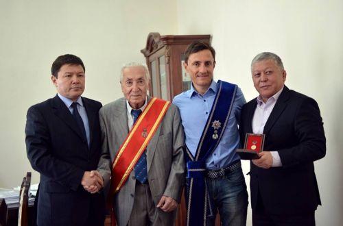 Евгений Ваккер, орден Манас3