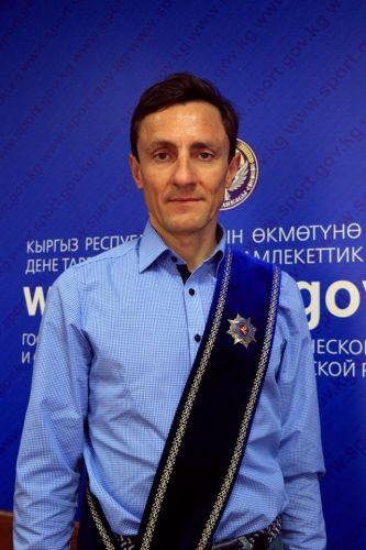 Евгений Ваккер, орден Манас1