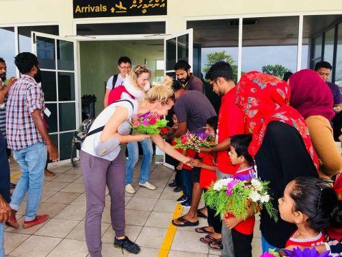 Наши на Мальдивах2