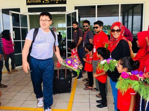 Наши на Мальдивах4
