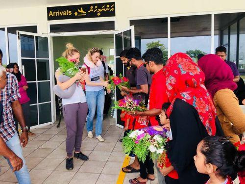 Наши на Мальдивах3