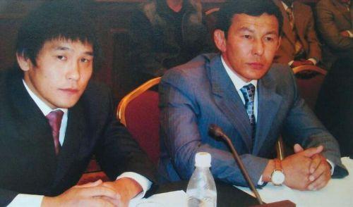 Базаргуруев и тренер