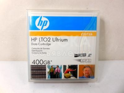 HP Ultrium LTO2 Data Cartridge 400GB C7972A