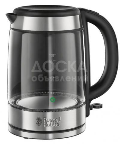 4244 - Электрочайник RUSSELL HOBBS 21600-70 Basic Glass Kettle