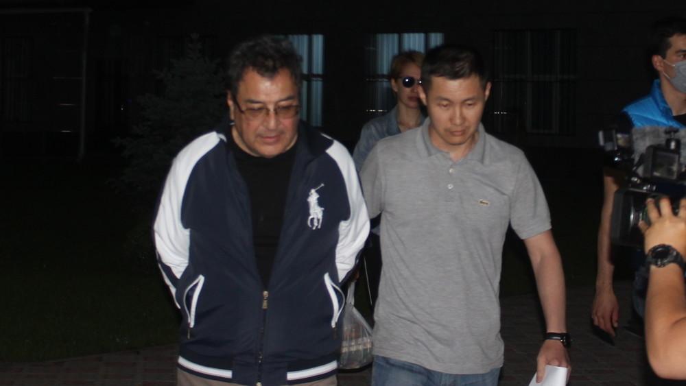 Шамиль Атаханов взят под арест