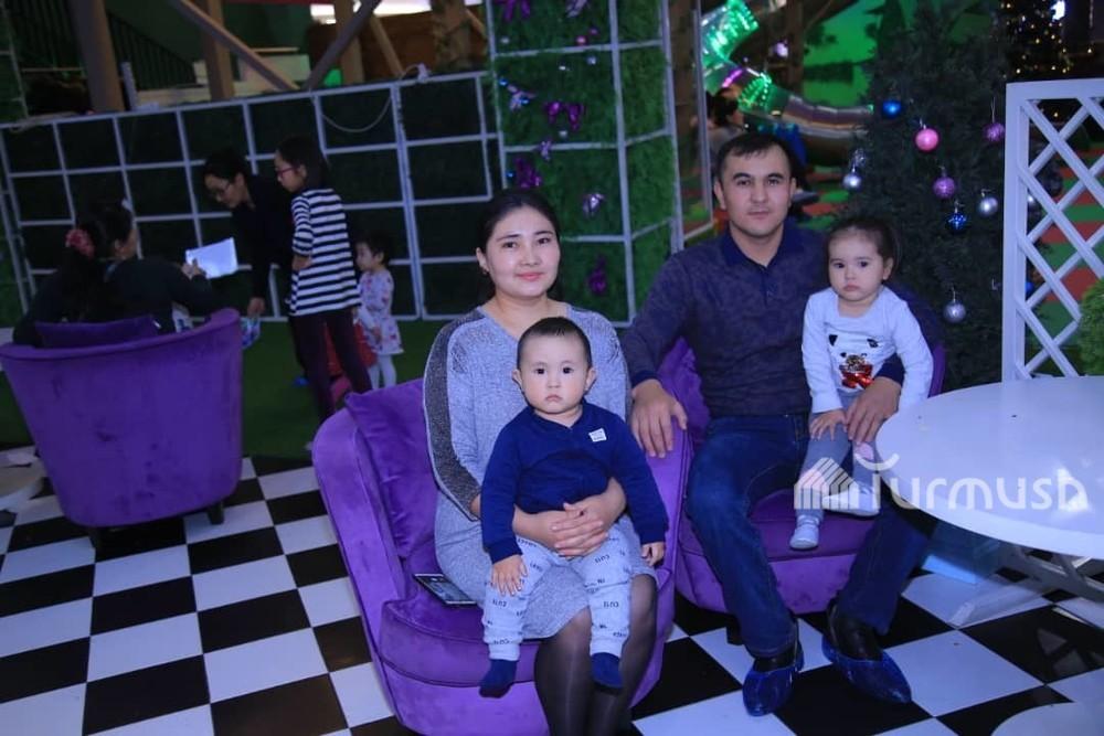 Чынгыз Чалабаев и его семья