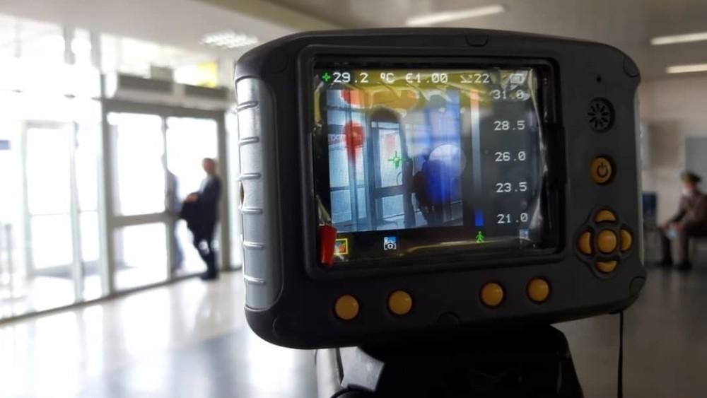 Тепловизоры в аэропорту Манас