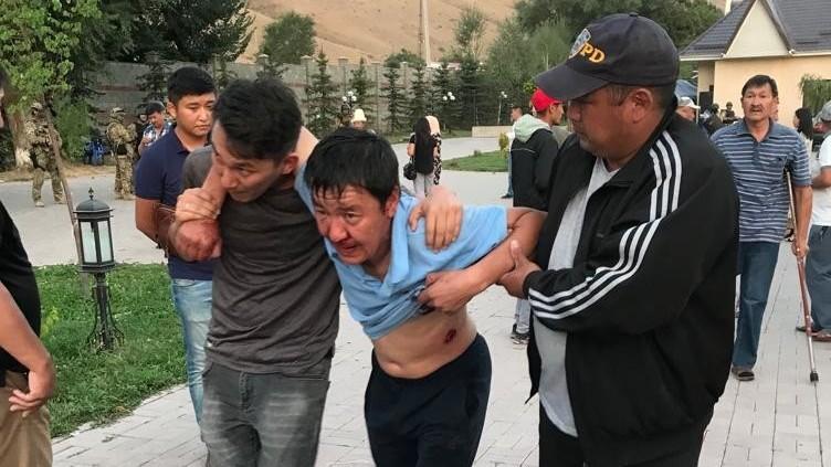 Раненный во время событий в Кой-Таше Фархад Баабиев