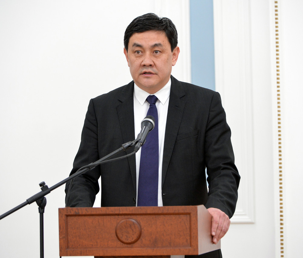 Министр экономики Санжар Мукамбетов