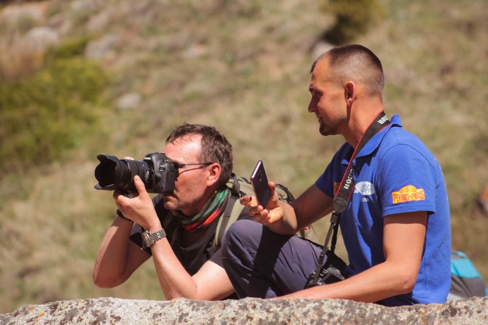 Участник фотоэкспедиции National Geographic