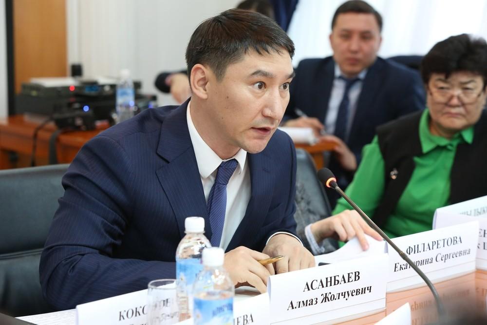 Советник министра иностранных дел Алмаз Асанбаев